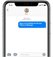 Ways to Use Bubble and Screen Effects in iMessage