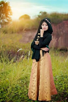 Foto Cewek Model  hijab vintage Foto Cewek Model  hijab variasi