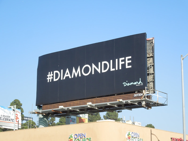 Diamond Life billboard