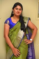 Anchor Sonia Chowdary Latest Photos in Saree HeyAndhra.com