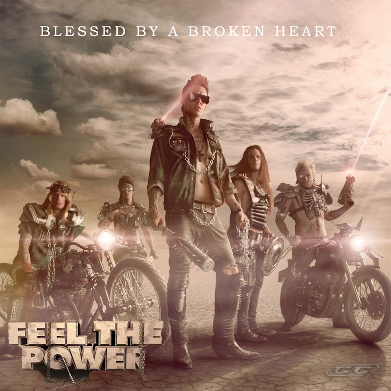 Blessed By A Broken Heart - Feel The Power 2012 English Christian Album