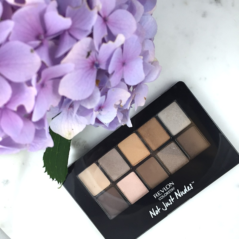 Revlon Colour Stay Not Just Nudes eyeshadow palette: A quick review