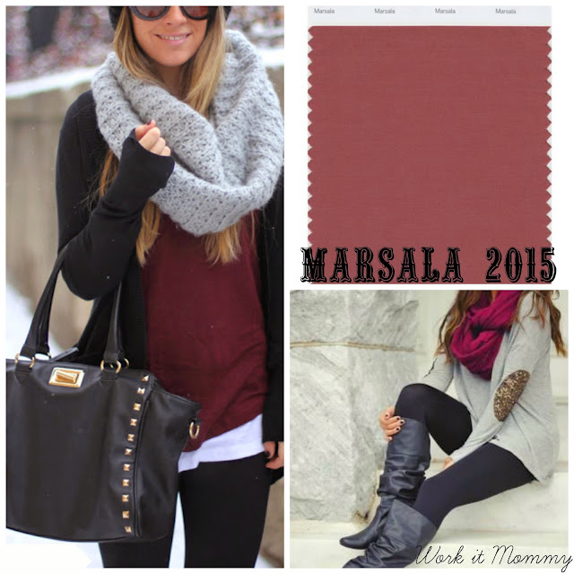 marsala outfit ideas