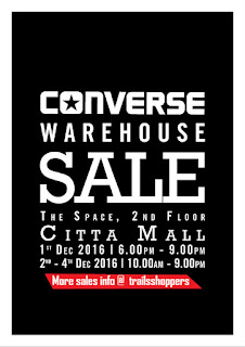 Converse Warehouse Sale 2016