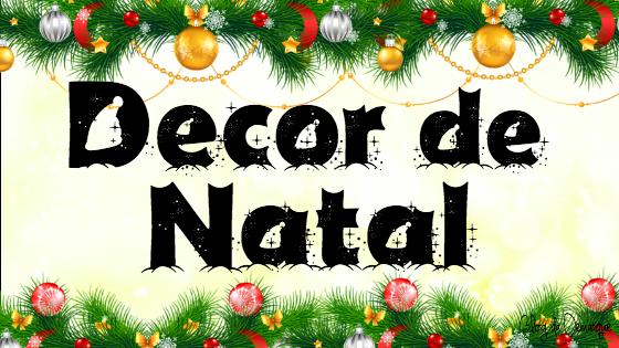 Banner Post Decor Natal Blog da Demarque #demarque #natal #Decor