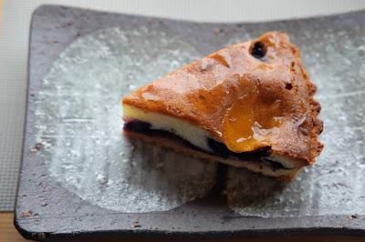 ひとつ石のメニュー開発 バナナチョコレートのパンケーキ