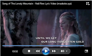 images Lirik Song of The Lonely Mountain