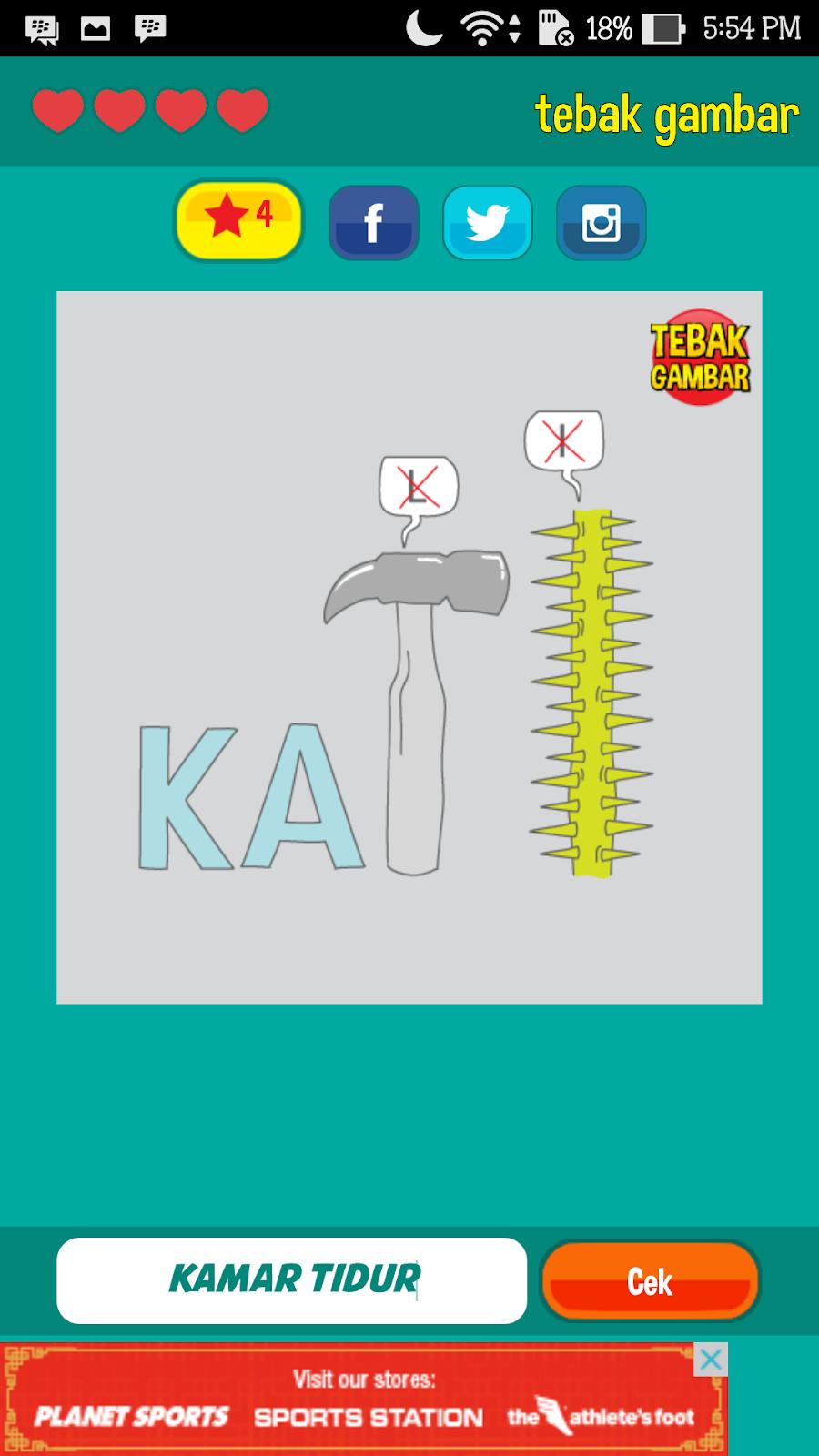 Jawaban Tebak Gambar Beserta Gambarnya Level 20 New Trik Download