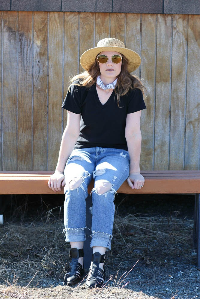 Spring style in boater hats