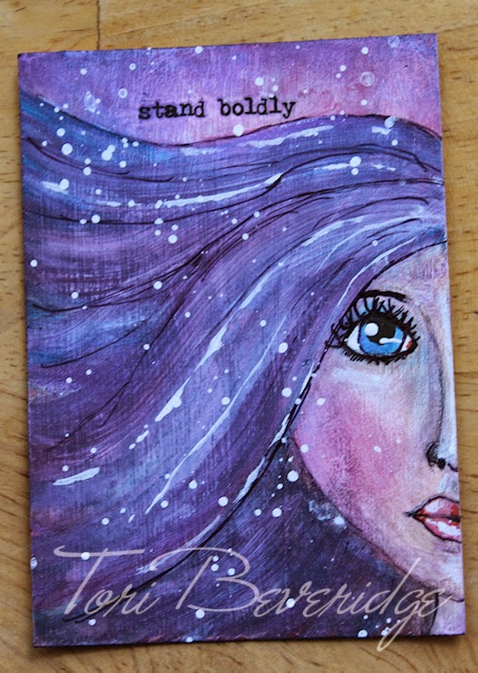 Stand Boldly by Tori Beveridge 2014