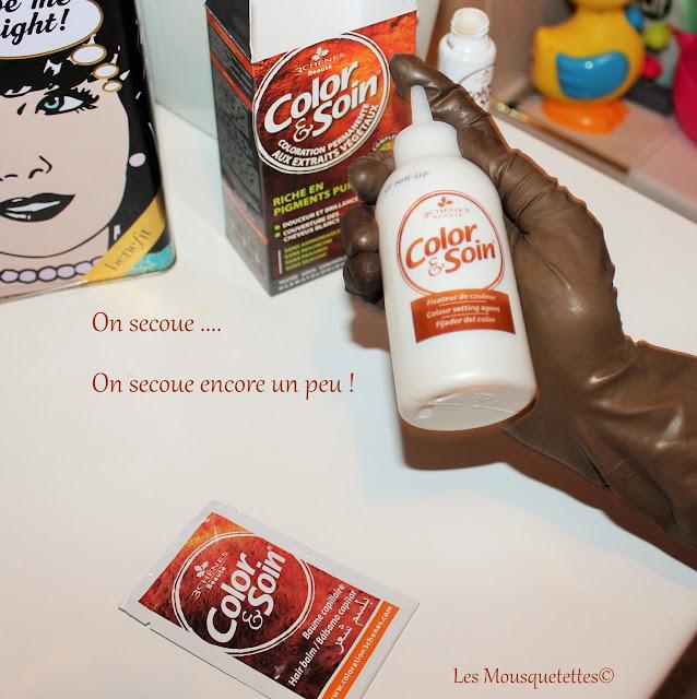 Préparation de la coloration - Color et Soin - Laboratoire des 3 Chênes - Les Mousquetettes
