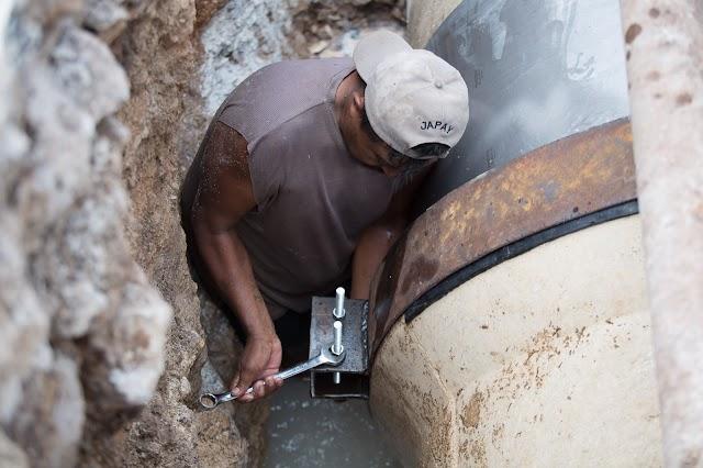 Se restablece el servicio de agua potable