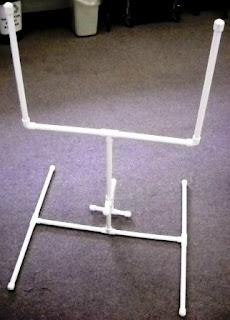 Membuat Sendiri Gawang Mini dari Pipa Pvc