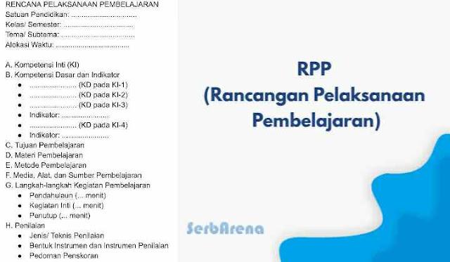 Contoh RPP Terbaru K13