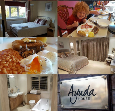Ayuda House B&B Altrincham rooms meals cooking