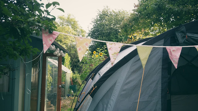 Project 366 2016 day 222 - Garden camping // 76sunflowers