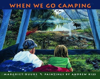 When We Go Camping Book Review