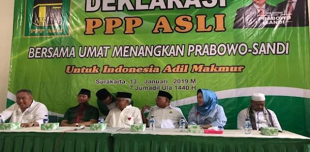 Humphrey: PPP Asli Deklarasi Dukung Prabowo Sandi Di Solo
