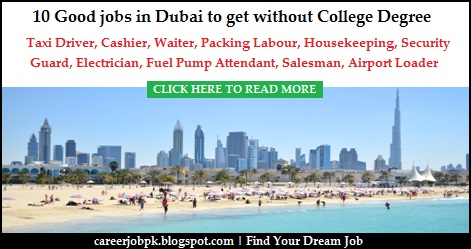 Finding work in Dubai without Experience