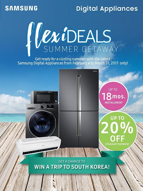 "Samsung's ""FlexiDeals Summer Getaway"" promo"