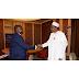 Buhari, Ambode meet behind closed door in Aso Rock