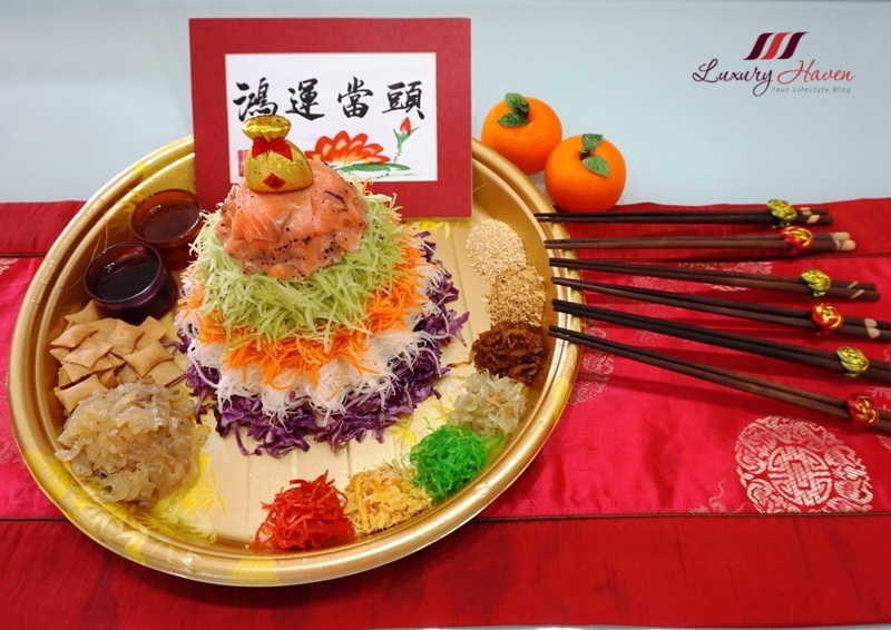 cny multi coloured smoked salmon yu sheng recipe