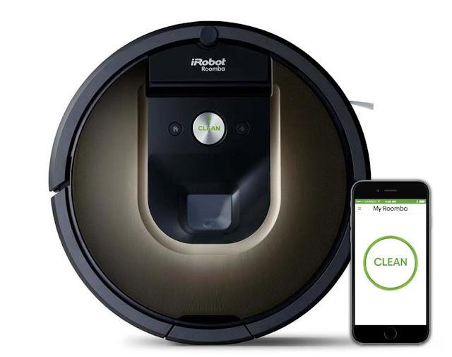 iRobot Roomba 980 aplikacija iRobot Home