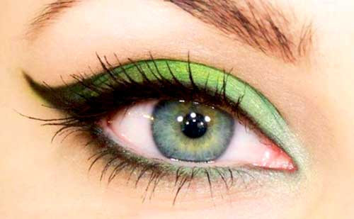 Resultado de imagen de maquillajes para ojos verdes