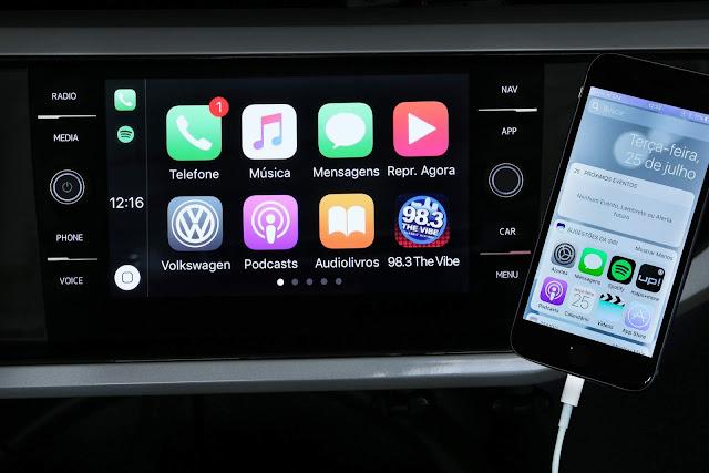 VW Polo 2018 + Rodas 17 e Painel Digital