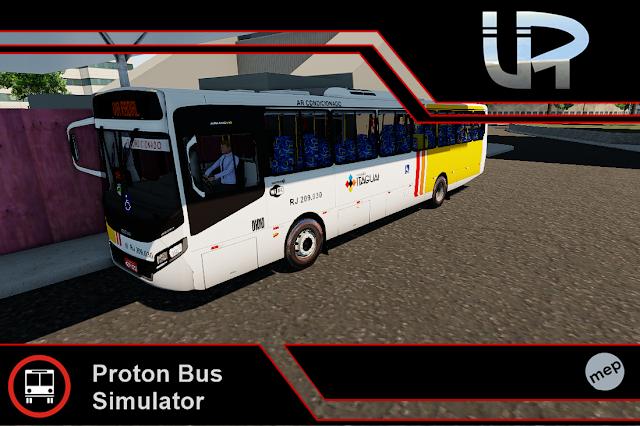 Skin Proton Bus Simulator - Apache VIP IV VW 17.230 OD Euro IV Viação Itaguaí