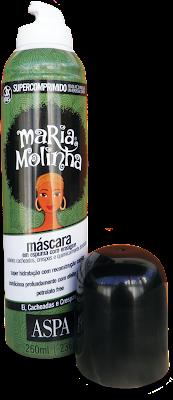 Resenha Máscara Hidratante Maria Molinha (ASPA) Liberada
