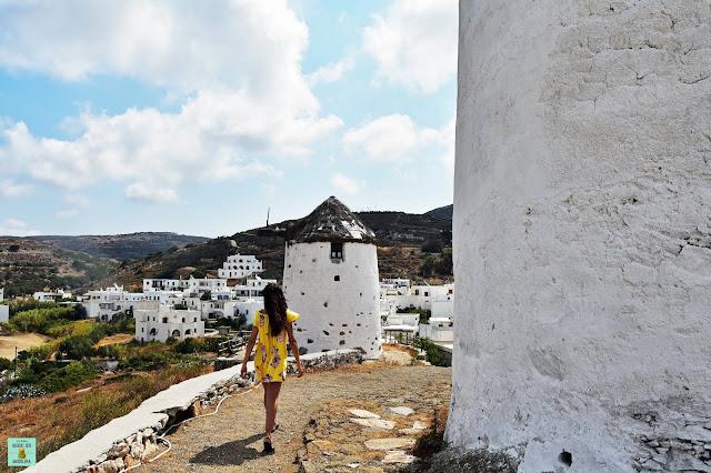 Vivlos, isla de Naxos (Grecia)