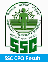 SSC CPO SI ASI Result