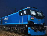The 1st Railways Converts Diesel Locomotive to Electric