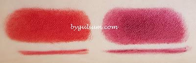 Lavera Lipstick - Matt'n Plum 28 Swatch