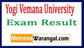 Yogi Vemana University Results 2017