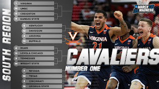 2018 NCAA Tournament March Madness South Region