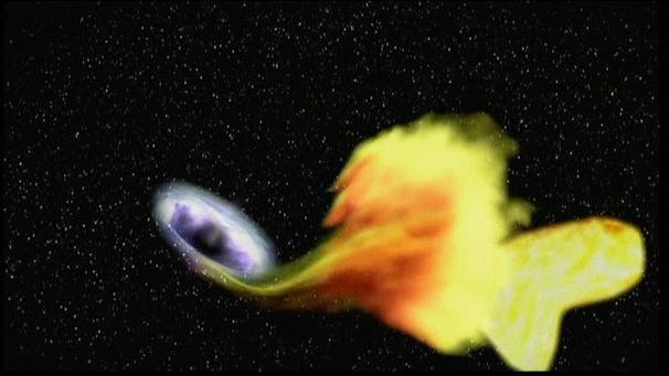 Black Hole Eating Planet - Pics about space
