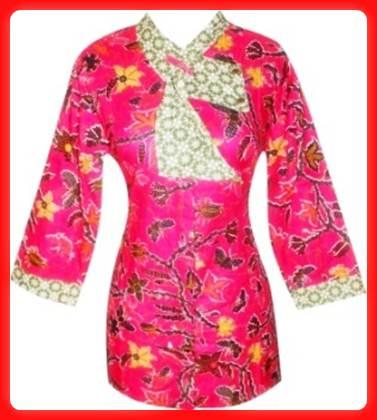 Model Baju Batik Wanita Pramugari