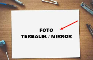 setting mirror foto HP advan