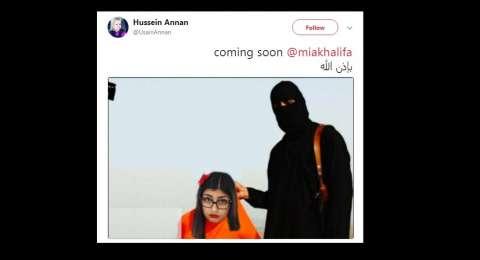 Mantan pemain film dewasa ini mengaku telah diancam oleh Isis.
