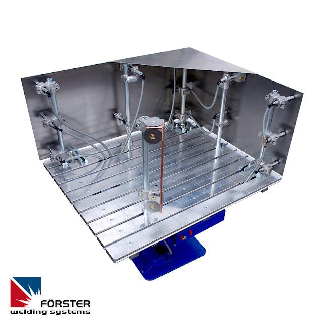 Применение системы вакуумных зажимов для изготовления листовых металлических конструкций