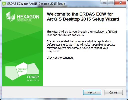 Membuka file ECW, ALG dan ECW pada ArcGIS Desktop