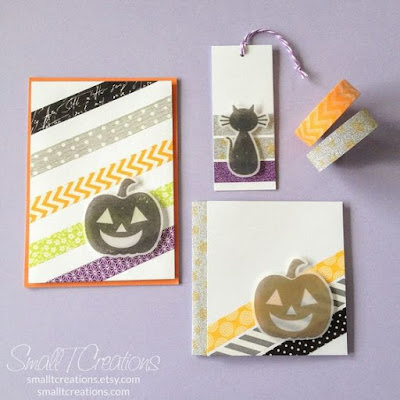easy decorations using washi tape