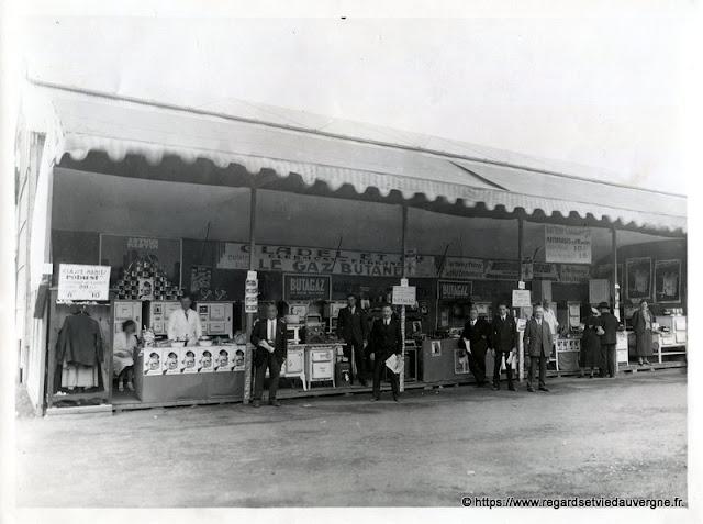 Photo noir et blanc Gladel clermont-Ferrand, 1933