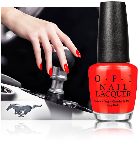 50th Anniversary of Ford Mustang Inspires New OPI Nail Lacquer Collection
