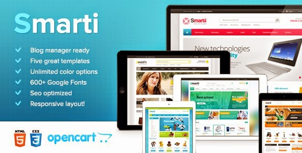 Best Responsive OpenCart Theme 2015