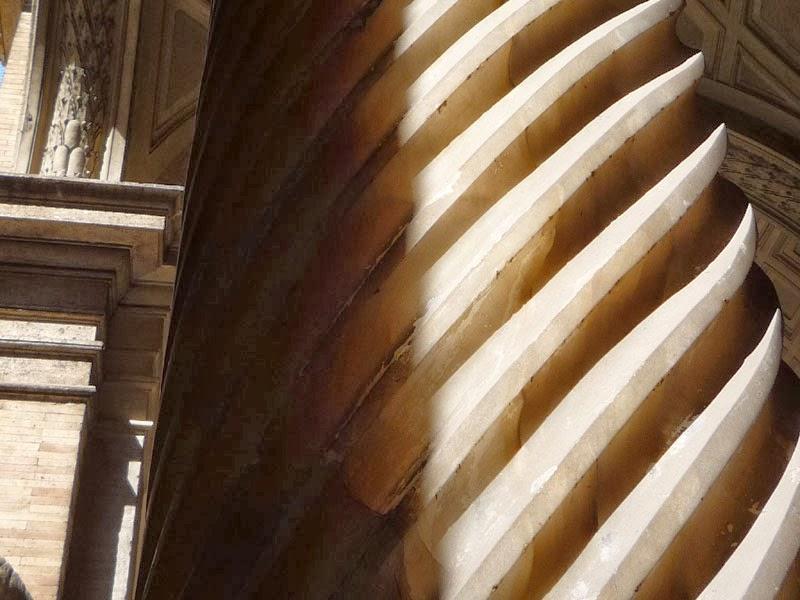 coluna alabastro belvedere3 - Os Museus Vaticanos
