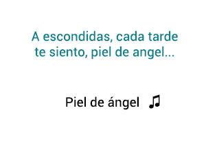 Camilo Sesto  Piel de Ángel significado de la canción.