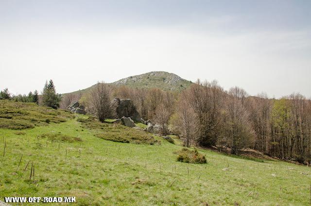View from Macedonian / Greek border